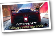 Asphalt 9 : Legends (Jeu : Courses)
