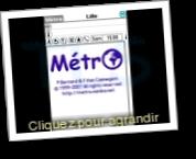Metro (Itinéraires métro ou bus)