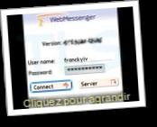 WebMessenger (Messagerie instantanée multi-protocoles)